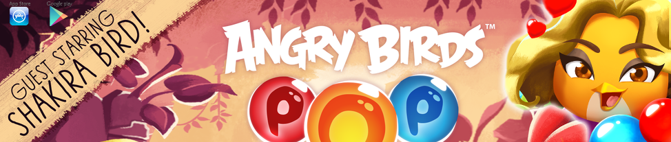 Shakira ospite in Angry Birds
